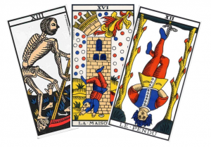 Tarot et cartes négatives ?